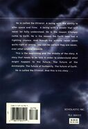 Animorphs Ellimist Chronicles back cover