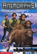 Animorphs 39 the hidden front cover scan