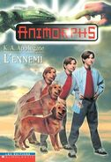 Animorphs 21 the threat L Ennemi french canadian cover