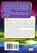 Animorphs 24 suspicion back cover