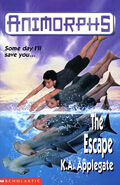 Animorphs 15 the escape UK cover