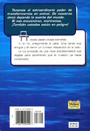 Animorphs 1 the invasion La invasion Spanish back cover Mariposa