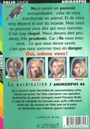 Animorphs 46 the deception french back cover