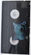 Lenticular sticker jake tiger shrink wrapped with vhs tape uk
