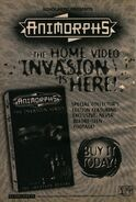 Animorphs vhs part 1 ad from book 28