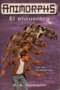 Animorphs 3 the encounter el encuentro spanish cover ediciones B