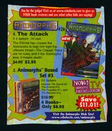 Animorphs 26 the attack book orders ad