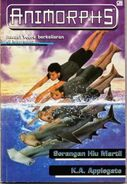 Animorphs book 15 indonesian cover