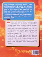 Animorphs 8 the alien o-alienigena brazilian back cover
