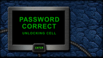 Hawk rescue password correct unlocking cell