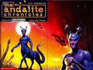 Andalite chronicles front and inside cover folded out