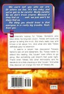 Animorphs 23 pretender back cover