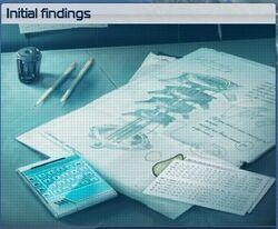 Inital findings