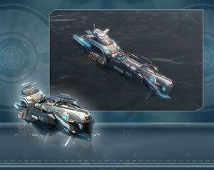 Reward tech ship
