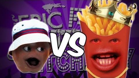 Annoying Orange - Epic Rap Battles Of Kitchenry 2 - Epic Rap Battles Of History Parody