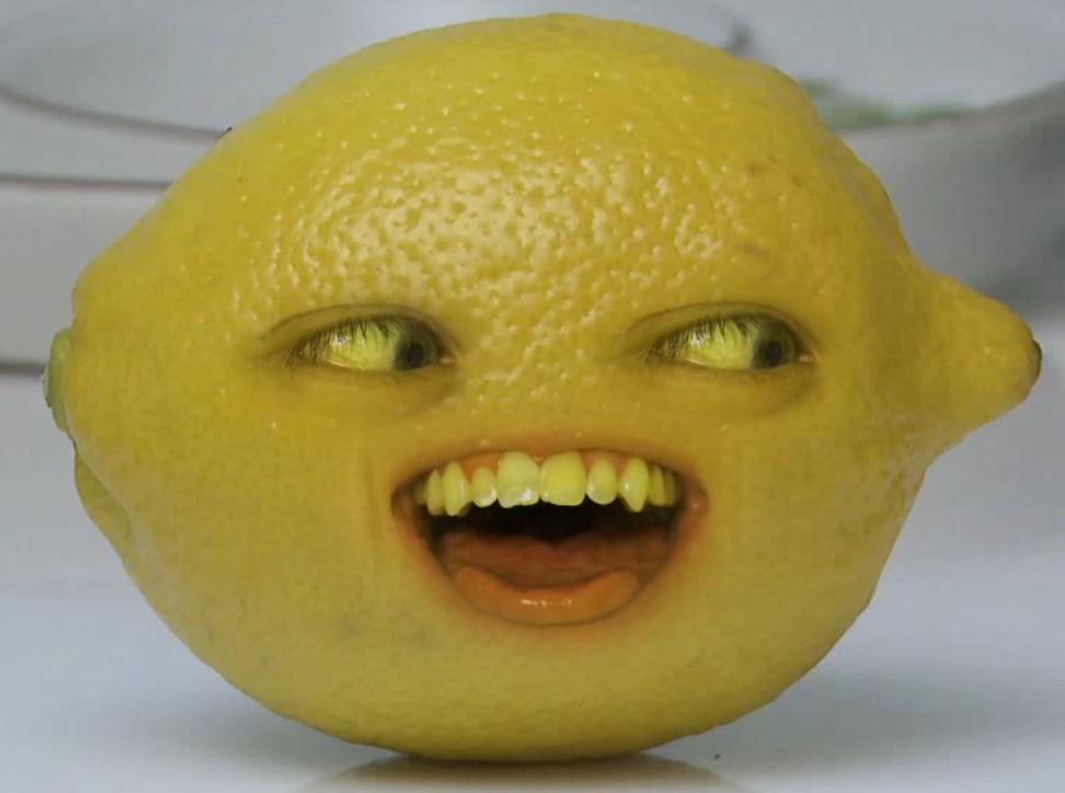 annoying orange grandpa lemon - photo #13