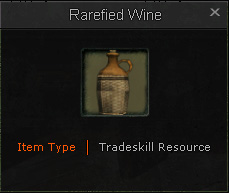 Tradeskill.Alchemy.Rarefied Wine