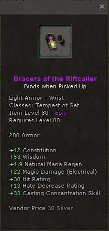 Bracers of the riftcaller