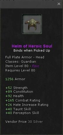 Helm of heroic soul