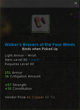 Walkers Bracers of the Four Winds