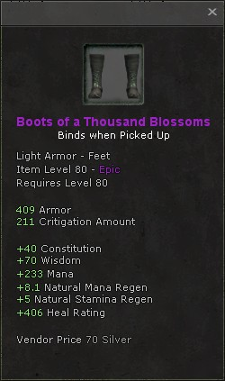 Boots of a thousand blossoms