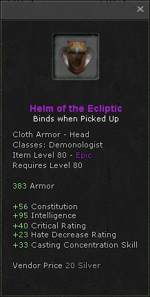 Helm of the ecliptic