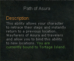 Path of Asura Text Icon