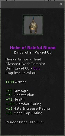 Helm of baleful blood
