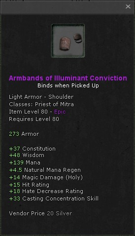 Armbands of illuminant conviction