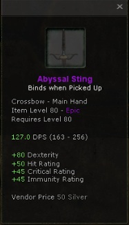 Abyssal Sting