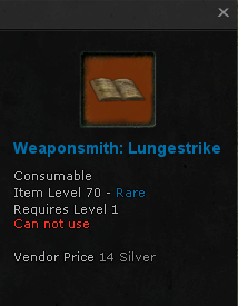 File:Weaponsmith Recipe Lungestrike 70 rare.png