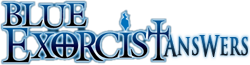 File:Blue-Exorcist Answers-wordmark.png