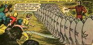 Oceanus creates an army