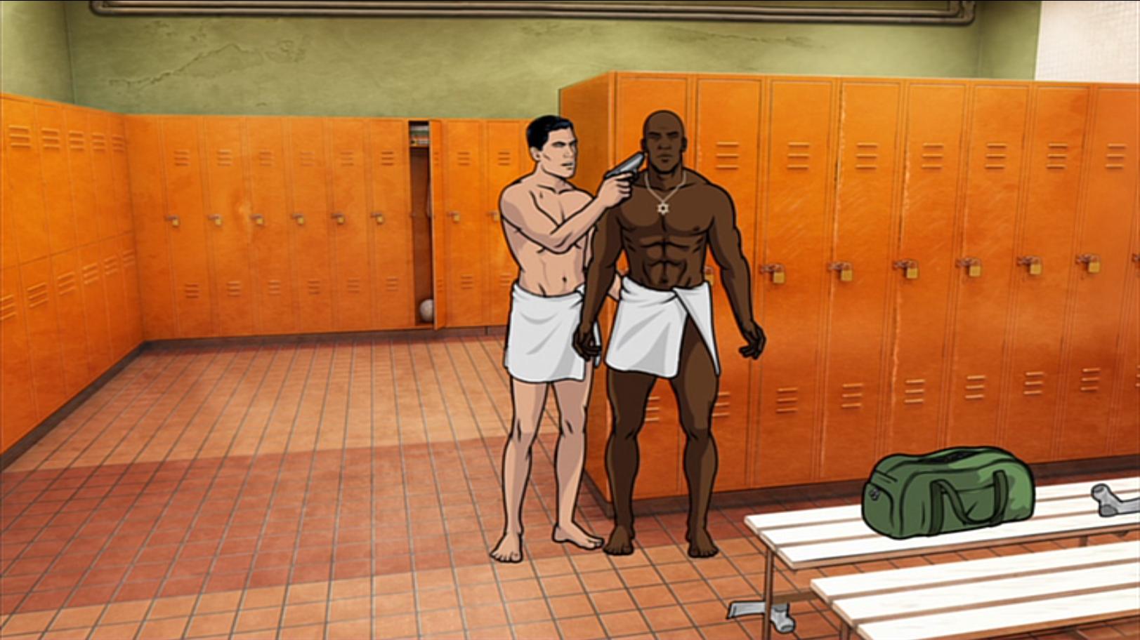 girls naked in locker room