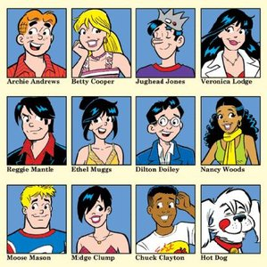 Image result for comics archies