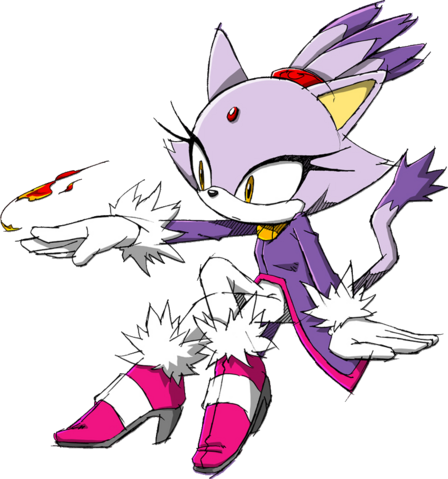 File:8. Blaze The Cat.png