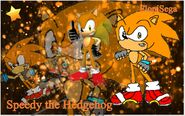 Speedy the Hedgehog Wallpaper