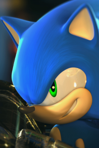File:IPod Wallpaper Sonic by Lukar82394.png