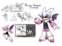 Rouge Woman Concept Art