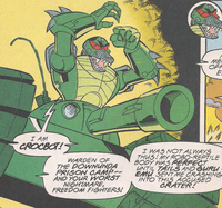 Crocbot newbody