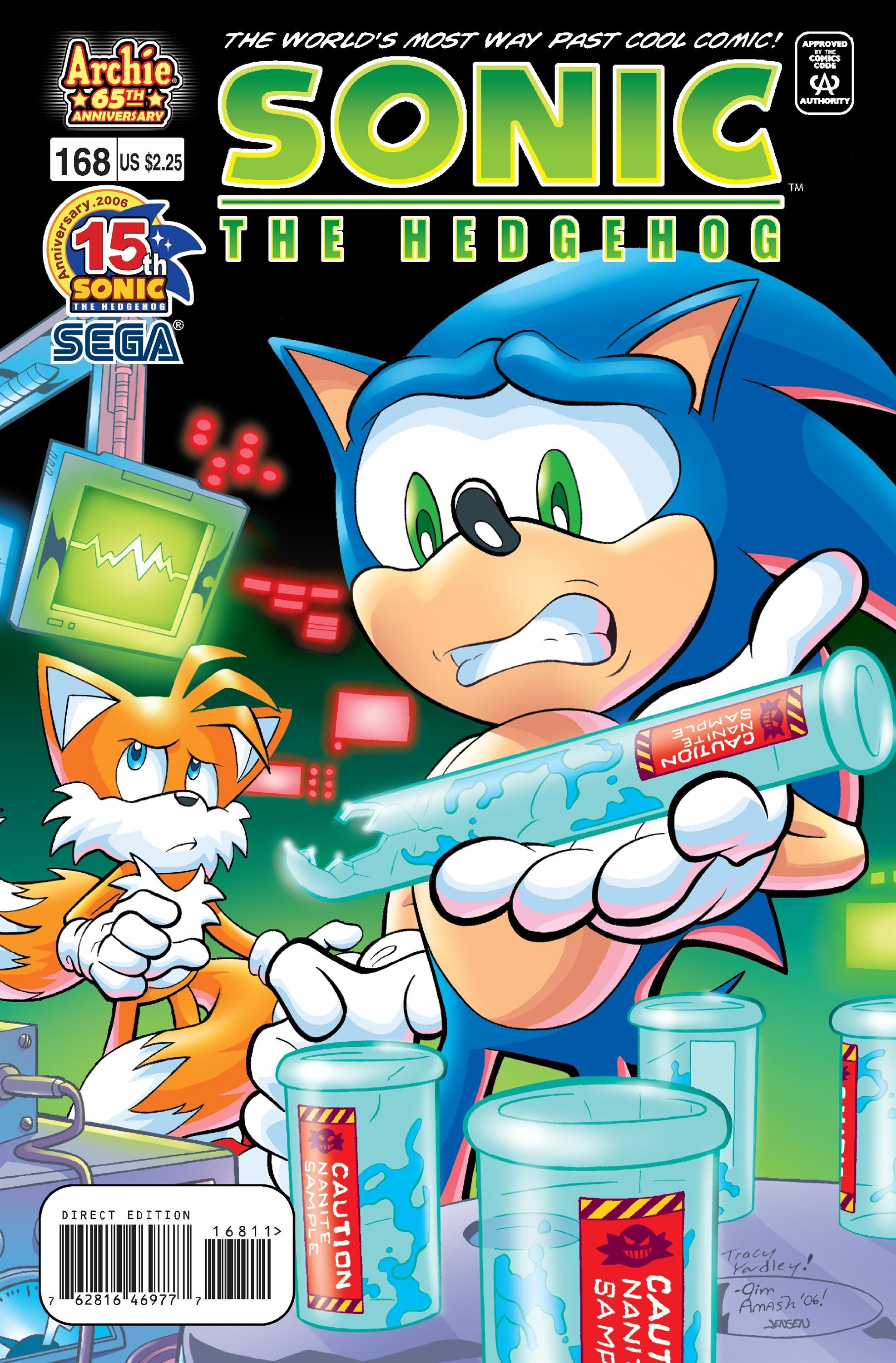 Archie Sonic The Hedgehog Issue 168 Mobius Encyclopaedia