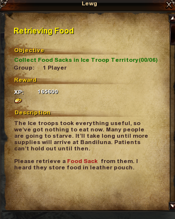 37 Retrieving Food