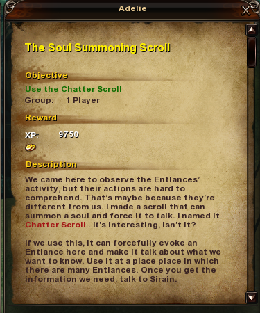 74 The Soul Summoning Scroll