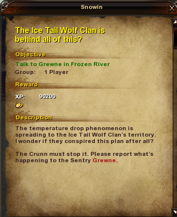 33 The Ice Tail Wolf Clan