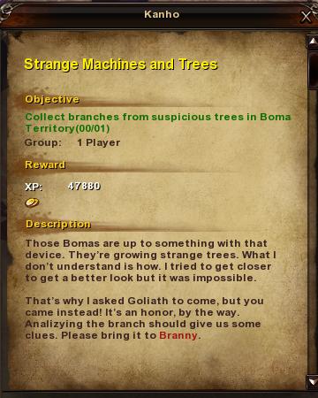 136 Strange Machines and Trees