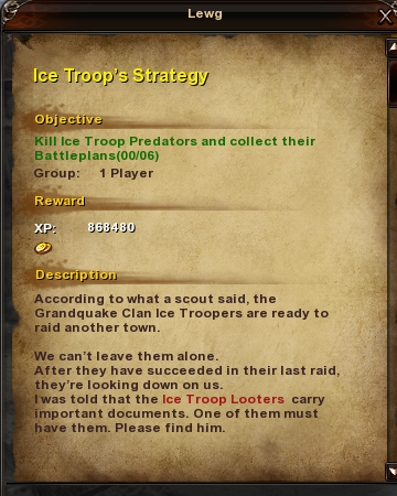 36 Ice Troop's Strategy