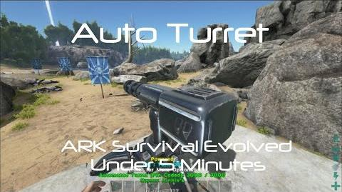 Auto Turret -ARK Survival Evolved-
