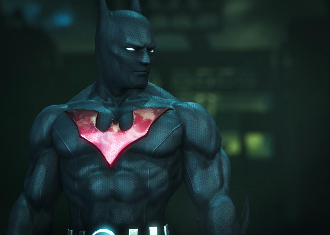 Arkham Joker Skin Batman Beyond Skin in Arkham