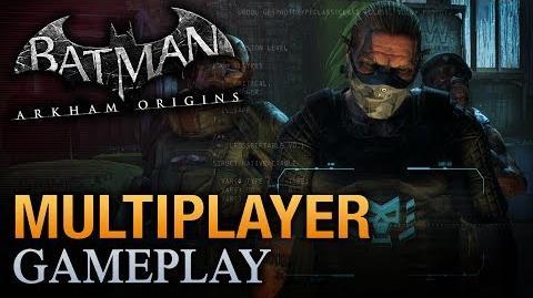 Batman Arkham Origins - Multiplayer Bane Gang Gameplay