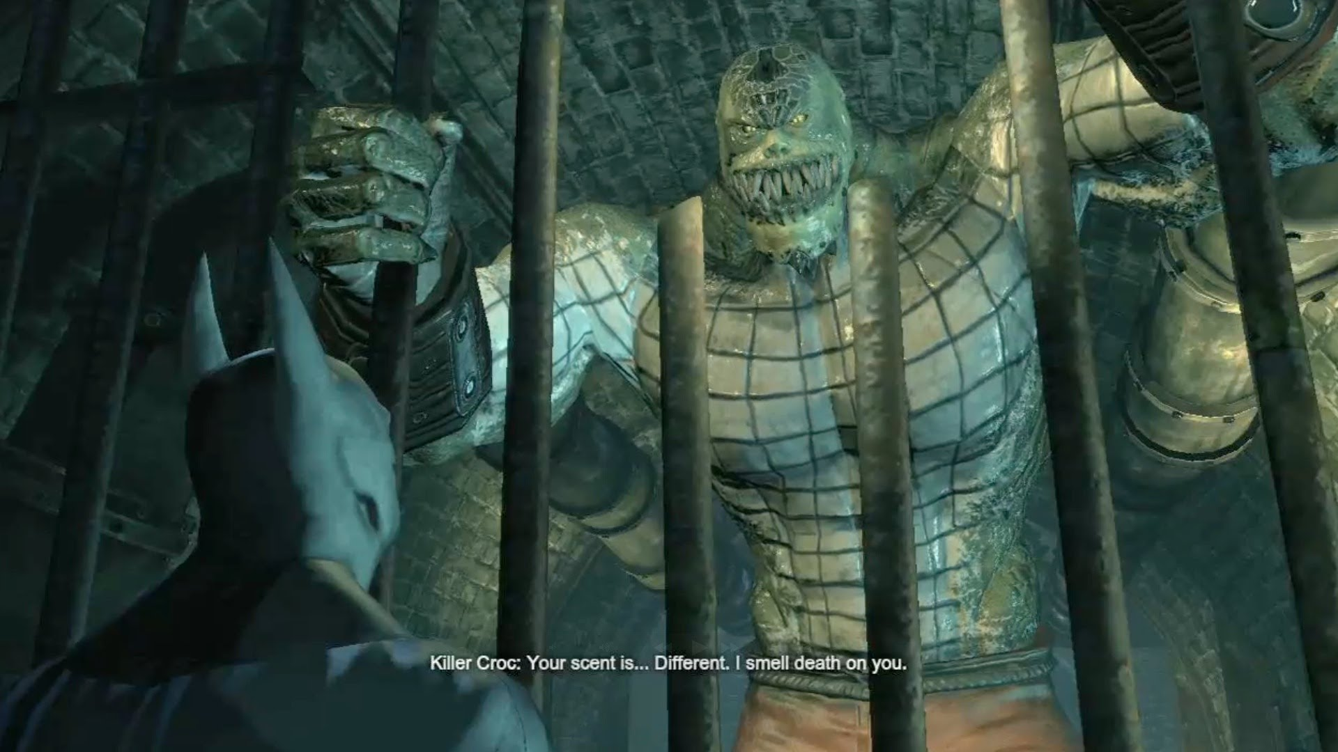 Killer Croc Arkham Asylum Comic